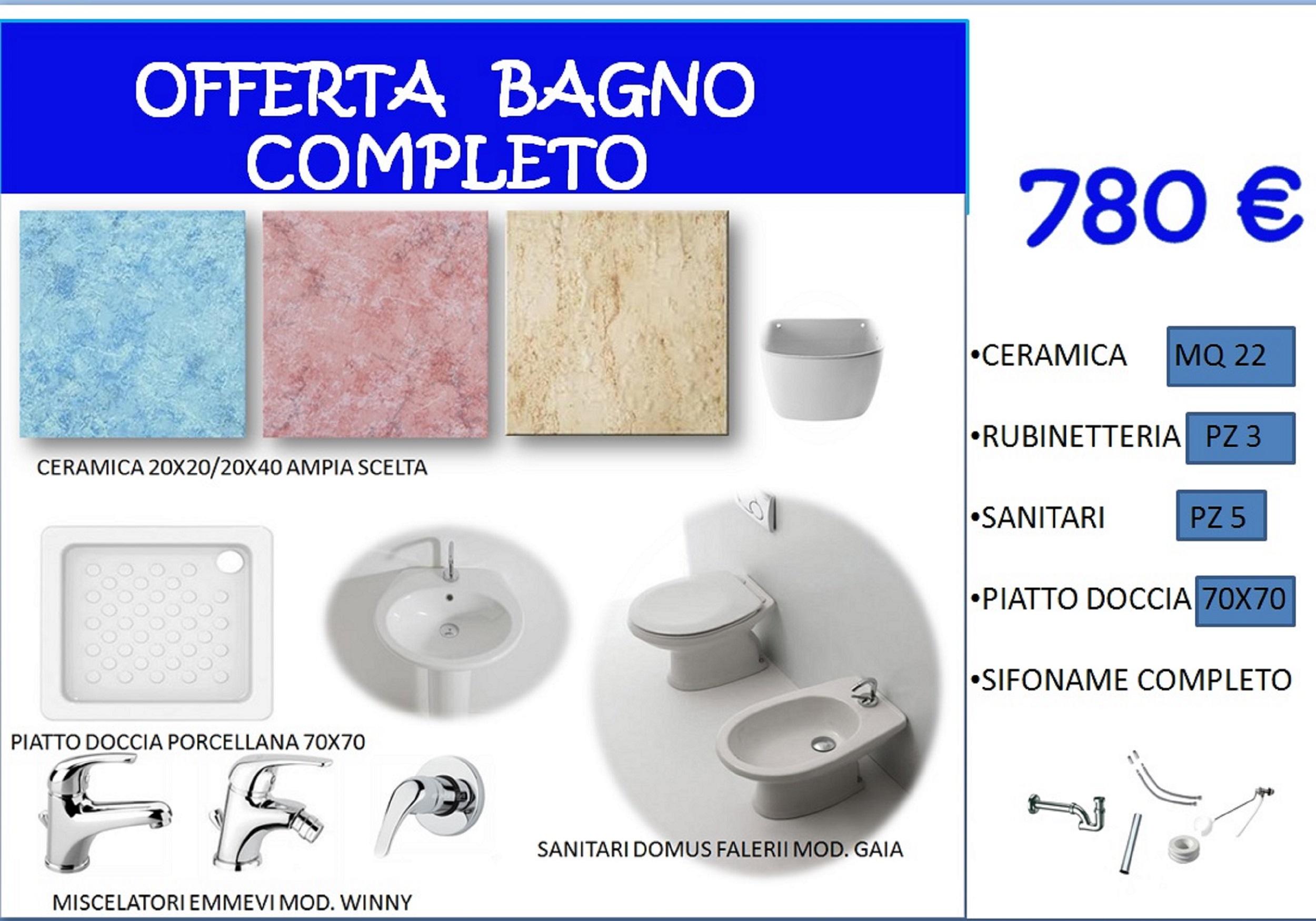 OFFERTA BAGNO COMPLETO | Offerte e promozioni | Ceramiche Latina